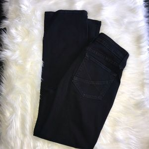 NYDJ Black Straight Jeans
